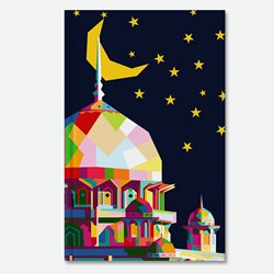 Kubah Masjid in WPAP art