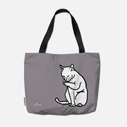 Furry Friends Tote Bag after lunch