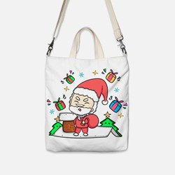 Cute Christmas Santa Illustration