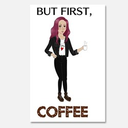 pop-punk coffee girl