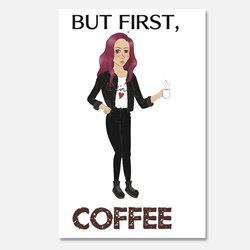 pop-punk coffee lady