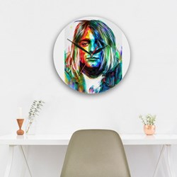Kurt Cobain in WaterColor Pop Art