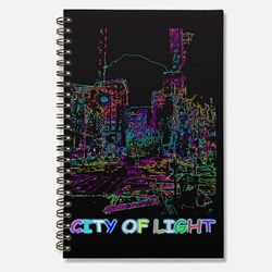 CITY OF LIGHT BLACK