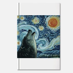 Howling at the starry night