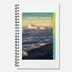 Travel takes you above the cloud