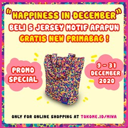 Special Promo Happiness in December