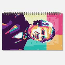 President Andrew Johnson in wpap art