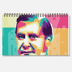 President William McKinley in wpap art