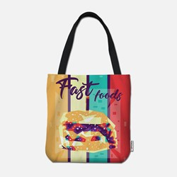 Burger in WPAP art