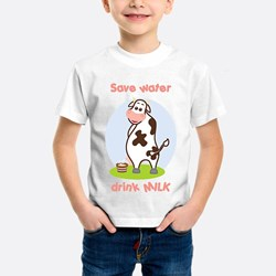 Peeing Cow (pink)