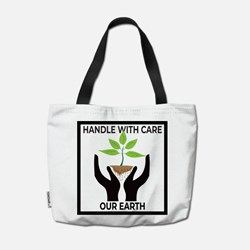 Desain Handle with Care Our Earth